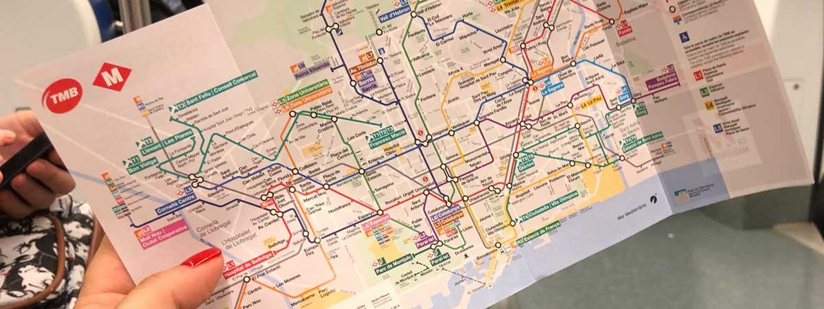 Cartina Metro Barcellona.Come Muoversi A Barcellona Flabulous Way Blog Di Viaggi